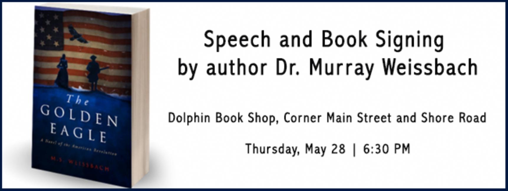 Speech & Book Signing